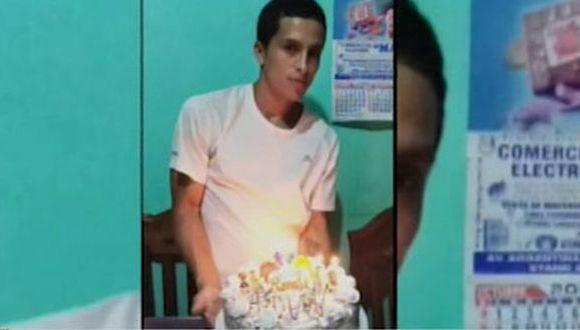 Víctor Carlos Ayala Salvatierra (32) recibió tres disparos. (Foto: Captura/América Noticias)