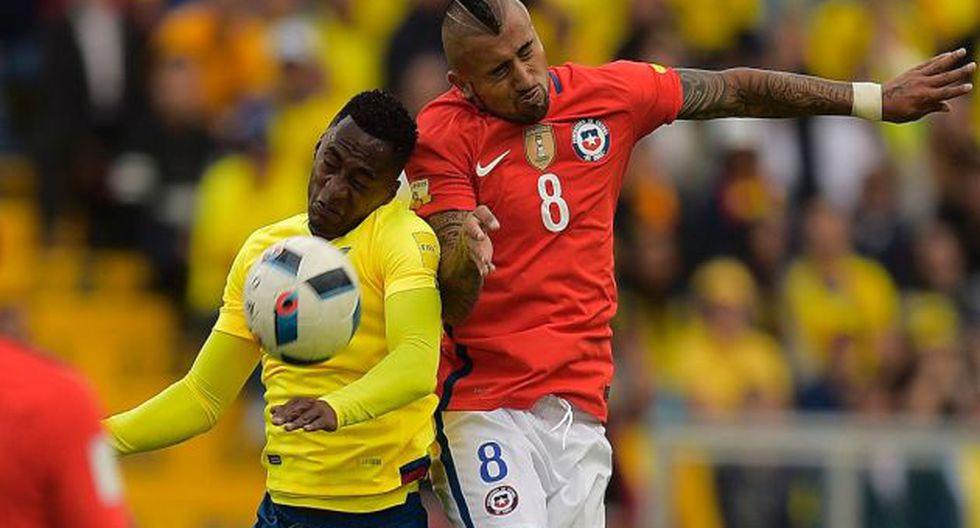 Chile tiene una sólida paternidad sobre Ecuador en Copa América. (Foto: AFP)