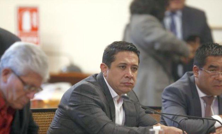 l congresista de Fuerza Popular, Miguel Castro, reveló que es uno de los testigos protegidos del fiscal José Domingo Pérez. (Fot