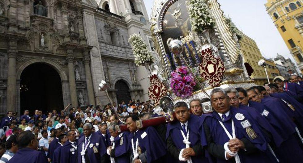 La Fiesta de las Cruces y el Señor de los Milagros tienen una duración de 31 días. (Foto: USI)