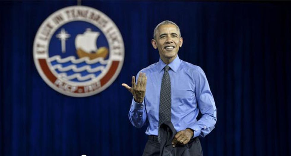 Barack Obama en la PUCP
