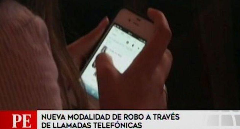 PNP advirtió de la nueva modalidad de robo mediante llamadas vía telefónica (Captura: América Noticias)
