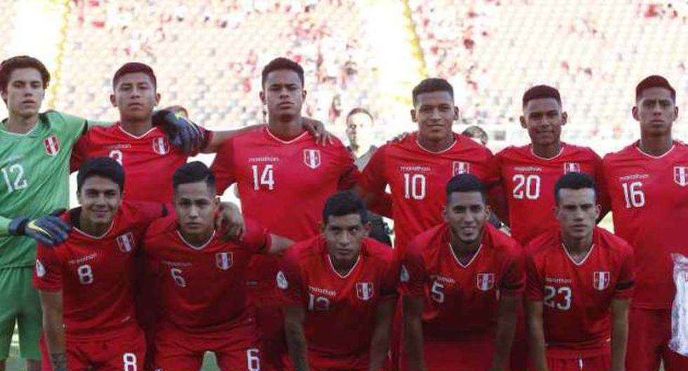 Perú vs. Ecuador se miden por el Sudamericano Sub 20. (Foto: Photosport)