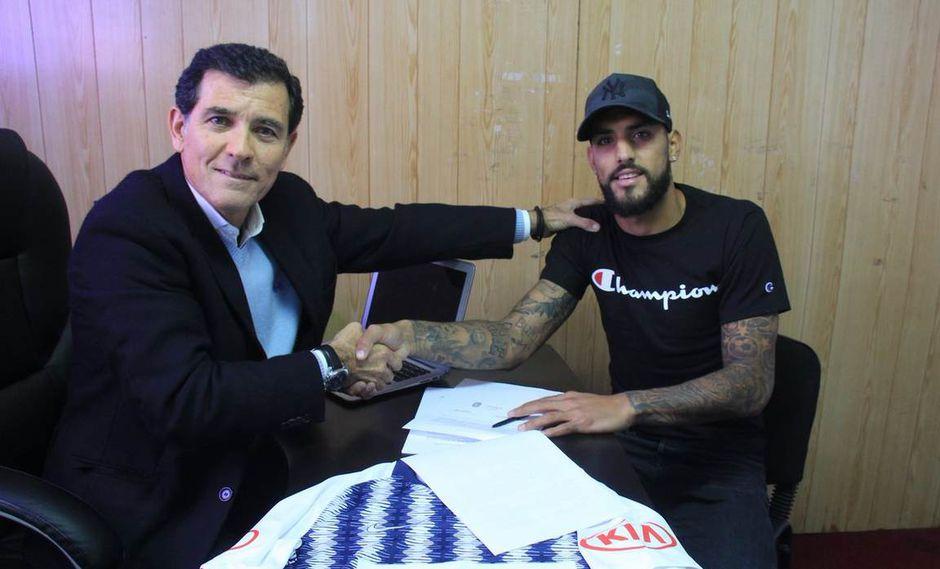 Alianza Lima: Adrián Balboa fue oficializado como refuerzo del cuadro victoriano
