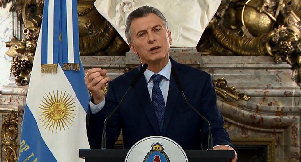 La imputación contra el mandatario Mauricio Macri elevó hoy el desconcierto social con la situación económica (Foto: AFP)