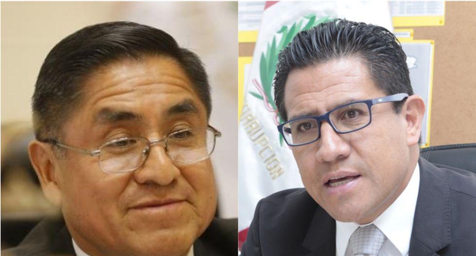 Amado Enco pidió al Congreso que revise la decisión de no acusar por crimen organizado a ex miembros del CNM. (Foto: USI)