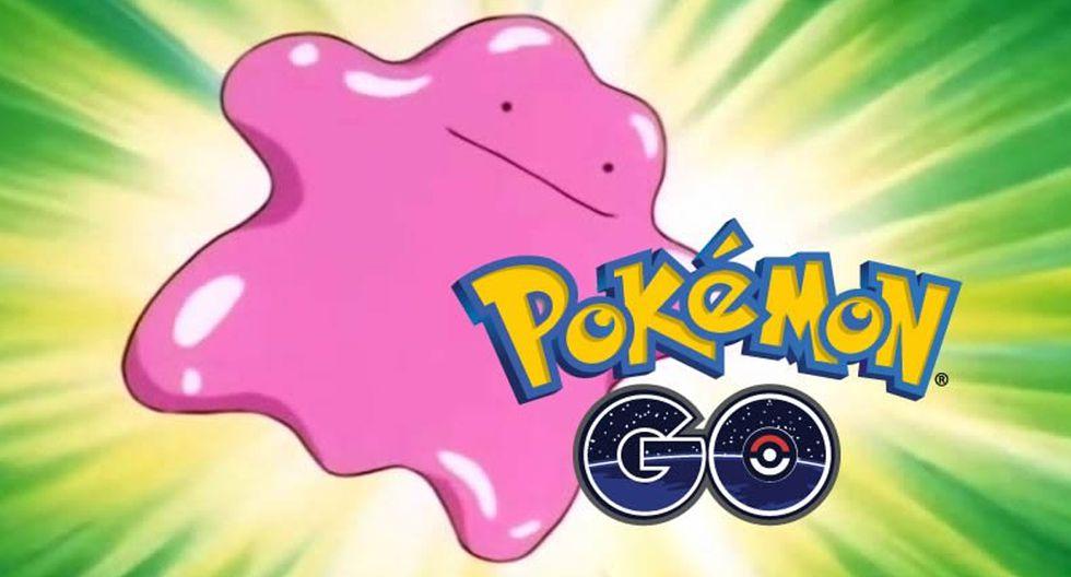 ¿Cómo puedes capturar a Ditto? De esta forma lo podrás conseguir en Pokémon GO. (Foto: Niantic)