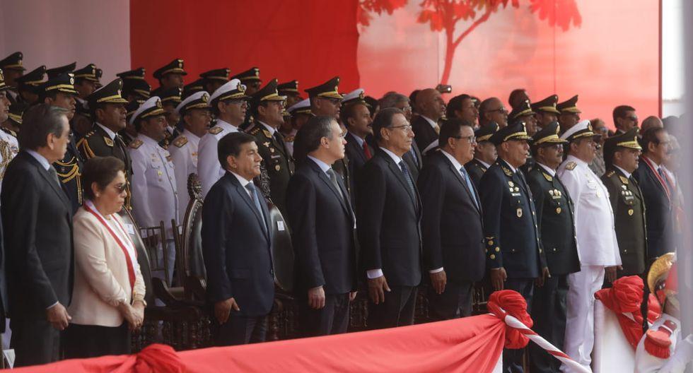En la ceremonia estuvieron presentes autoridades militares, eclesiásticas, ex rehenes, familiares de los caídos y los comandos que participaron en dicho operativo. (Foto: Anthony Niño De Guzmán / GEC)