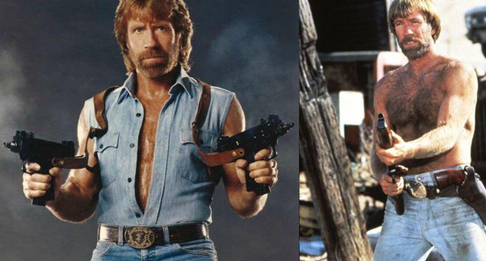 Chuck Norris fue protagonista de la taquillera película Delta Force (1986).(Facebook Chuck Norris | Metro-Goldwyn-Mayer)