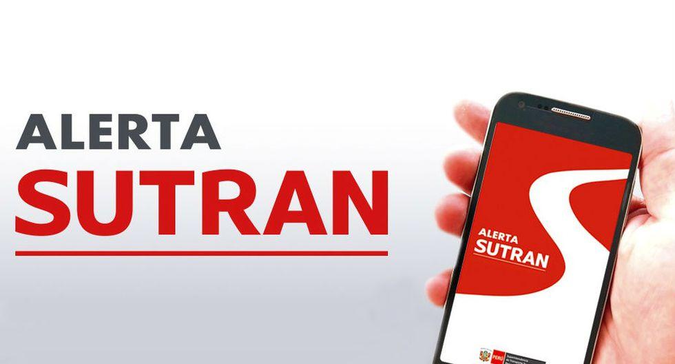 Por el momento, la aplicación 'Alerta Sutran' solo se encuentra disponible para teléfonos inteligentes del sistema operativo Android. (Foto: Sutran)