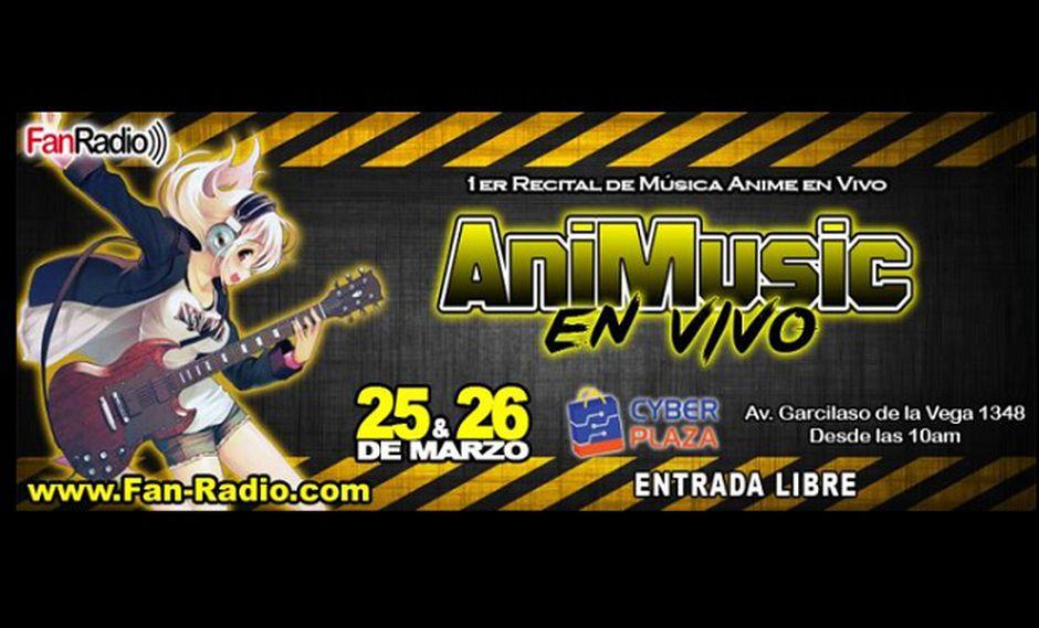 AniMusic, el primer recital de música anime en vivo