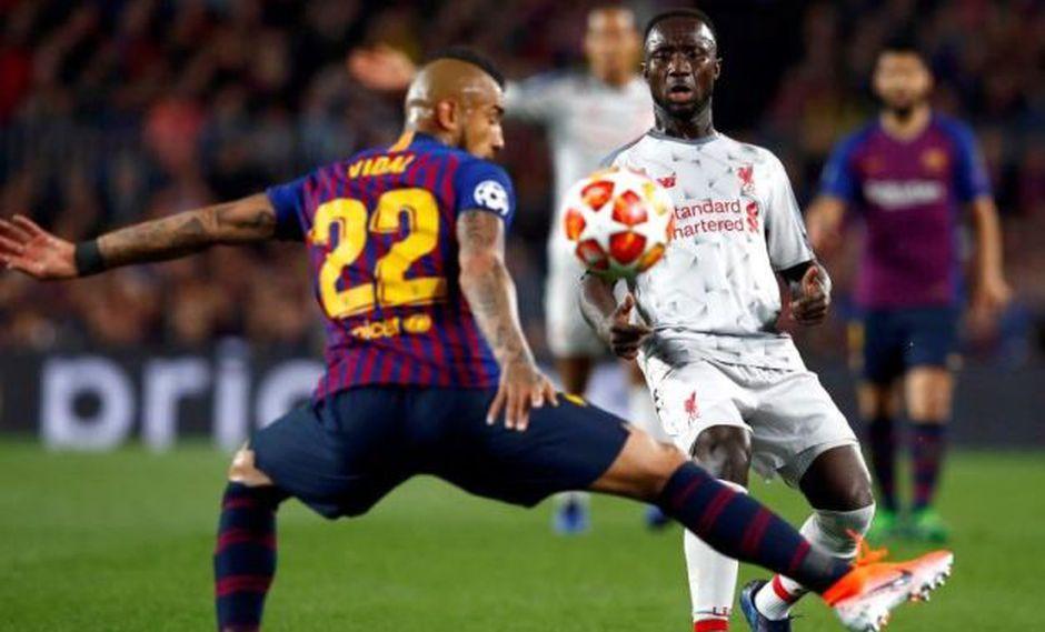 Naby Keita no jugará para Liverpool ante la revancha contra Barcelona