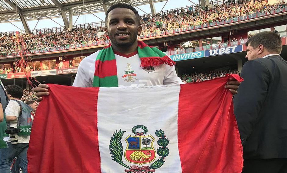 Jefferson Farfán dedicó al Perú su triunfo junto al Lokomotiv en Rusia.