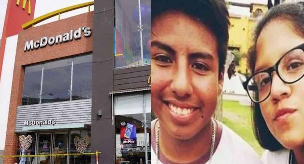Alexandra Porras Inga y Carlos Campos Zapata murieron tras recibir una letal descarga eléctrica cuando trabajaban en el McDonald's de Pueblo Libre. (Composición)