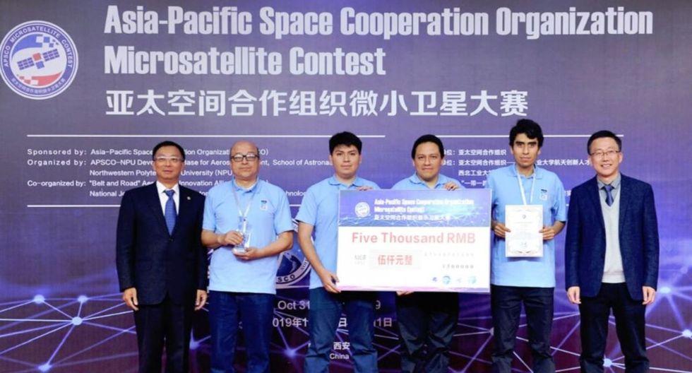 El Concurso Mundial de Microsatélites se llevó a cabo del 24 de octubre al 2 de noviembre en Xian. (Foto: Difusión)