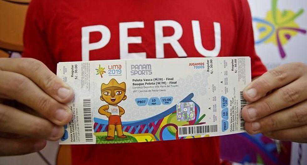 Lima 2019: aún hay entradas.