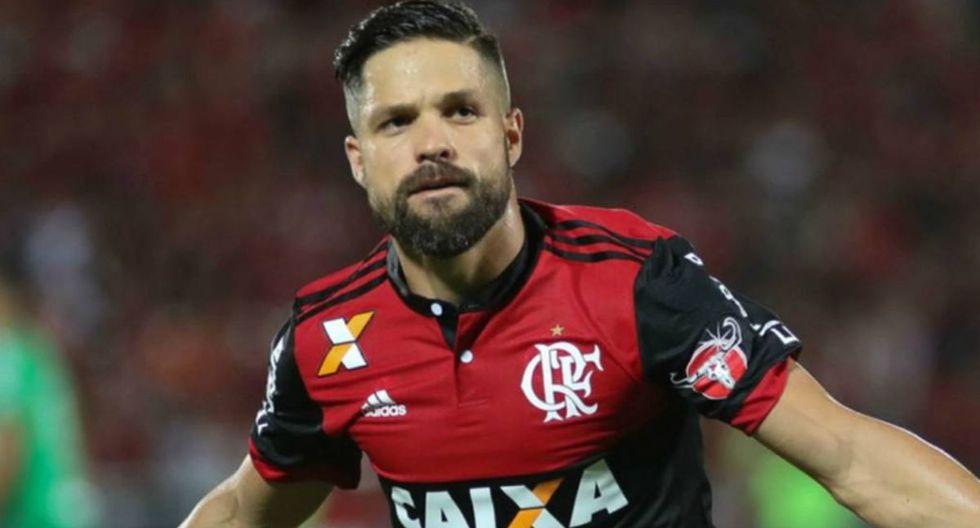 Diego Ribas   Flamengo. (Foto: Agencias)
