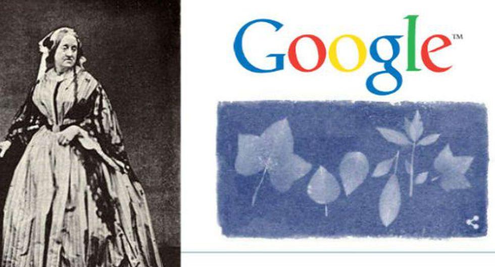 """""""El trabajo de Anna Atkins traspasó el ámbito científico, para también ser un gran aporte a las artes y la estética"""". (Fuente: Google / Wikipedia)"""