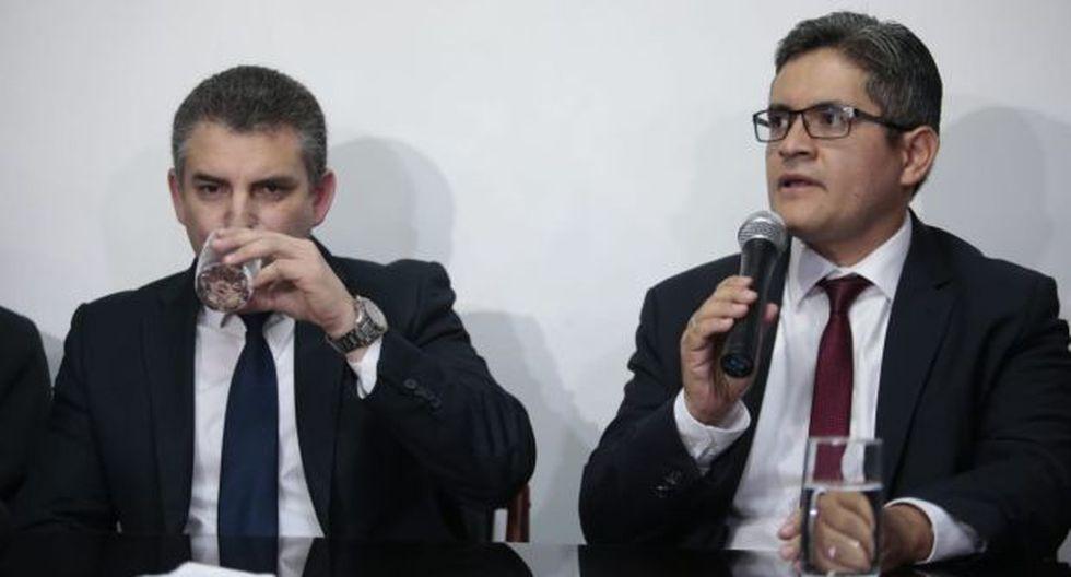 Fiscales supremos Pedro Chávarry y Víctor Rodríguez Monteza respaldaron pedido para separar a Rafael Vela y José Domingo Pérez del Equipo Lava Jato. (Foto: GEC)