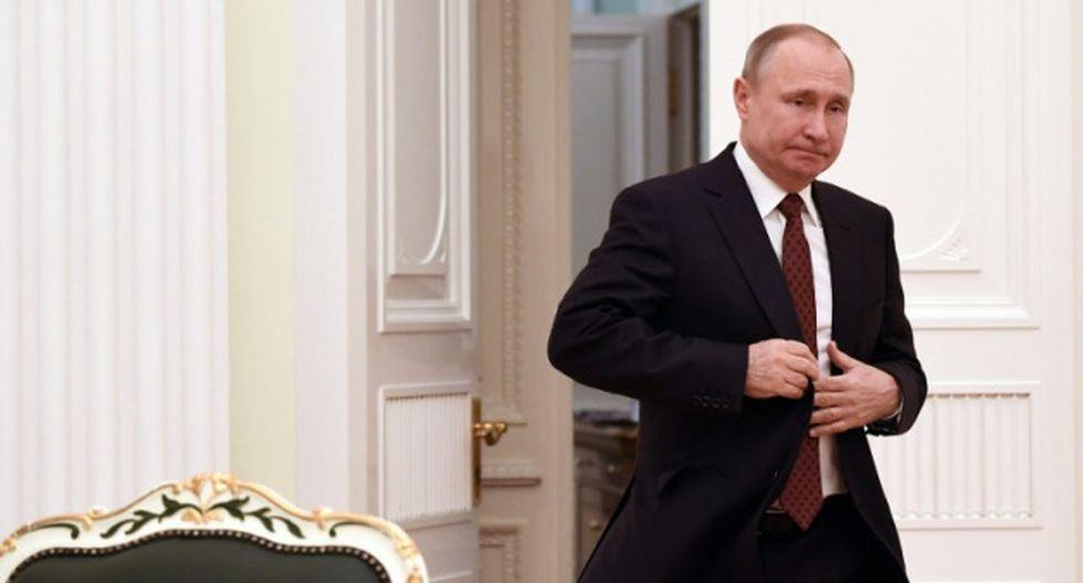 Vladimir Putin reelegido en Rusia. (AFP)