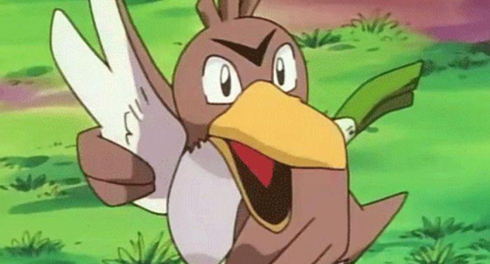 Farfetch'd tiene evolución oficial desde su primera aparición en Pokémon. (Foto: TV Tokyo)