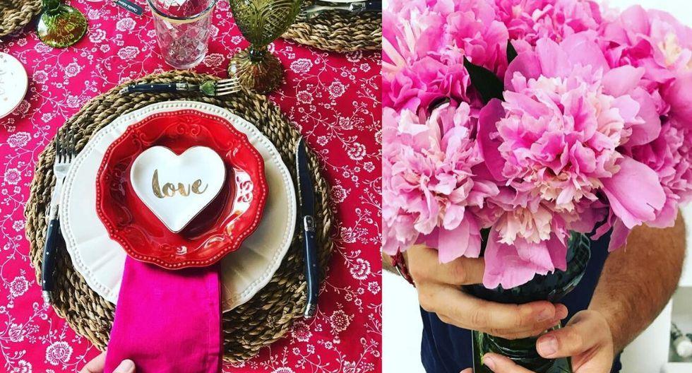 Puedes escribir en los platos frases alusivas a la fecha. (Fotos: Instagram)