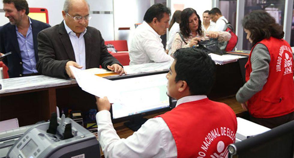 Un total de 562 listas de candidatos solicitaron su inscripción para participar en las Elecciones 2020. (Foto: GEC)