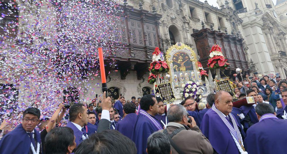 La última procesión del Señor de los Milagros se realizará el viernes 1 de noviembre. (Foto: GEC)