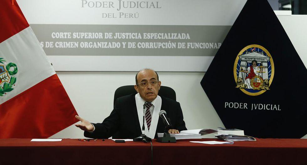 El juez Víctor Zúñiga rechazó el pedido de Giulliana Loza para excluir testimonio de Rolando Reátegui del proceso. (Foto: Joel Alonzo / GEC)