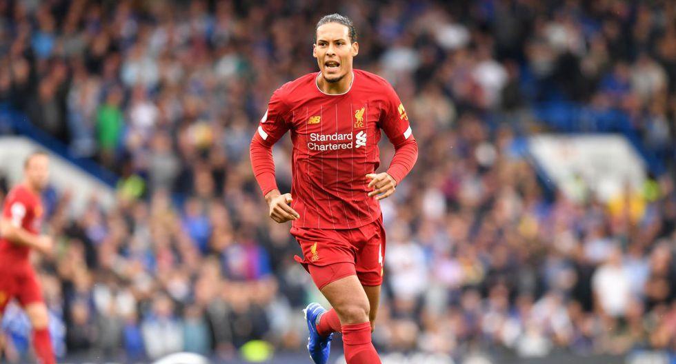 Virgil van Dijk / Holanda / Liverpool (Inglaterra). (Foto: AFP)