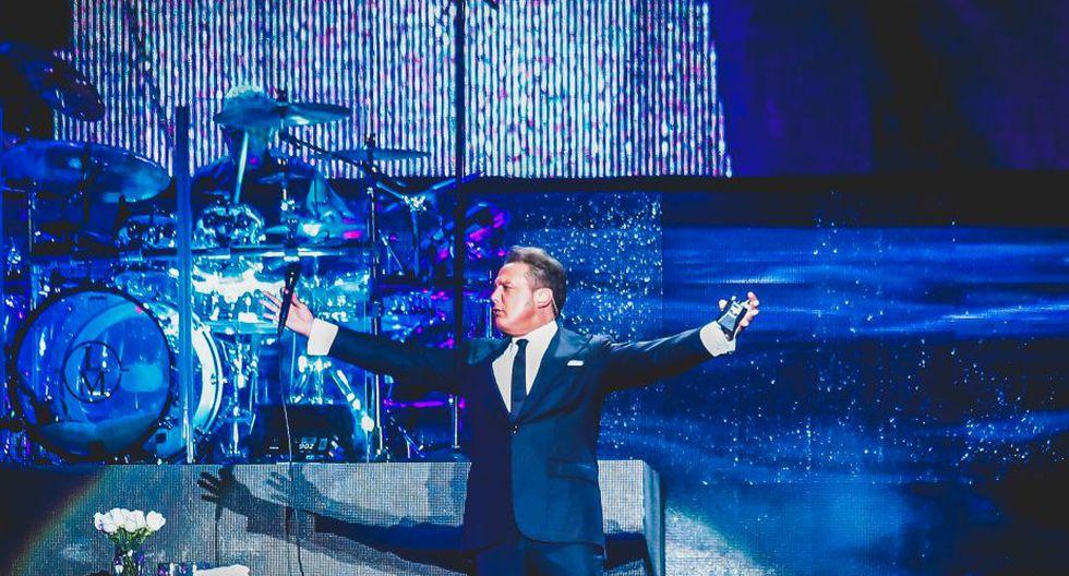 Luis Miguel ofreció concierto para sus fans peruanos en el Jockey Club. Foto: Johanna Valcárcel