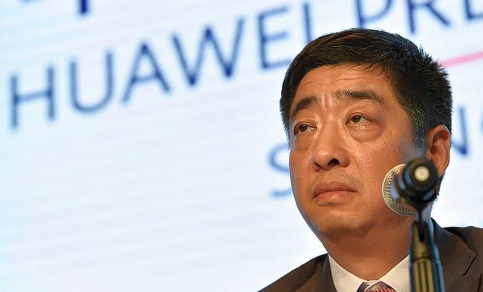 Ken Hu, vicepresidente global de Huawei, señaló que las acusaciones de Estados Unidos contra Huawei no se basan en hechos. (Foto: AFP)