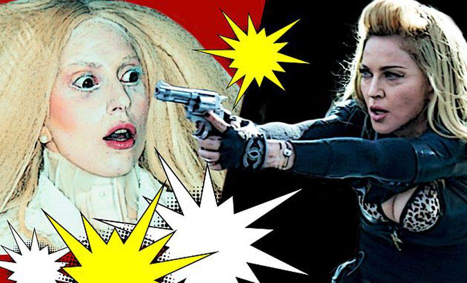 Madonna arremete contra Lady Gaga en una nueva canción