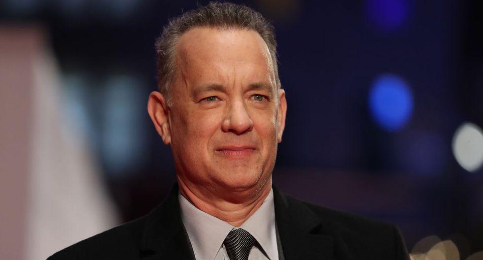 """Tom Hanks está nominado a Mejor actor de reparto por """"A Beautiful Day"""". (Foto: AFP)"""
