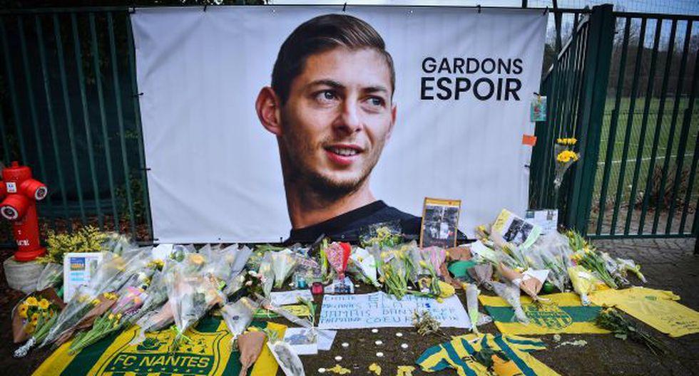 La plicía británica confirmó que el cuerpo hallado en el avión es de Emiliano Sala. (Foto: AFP)