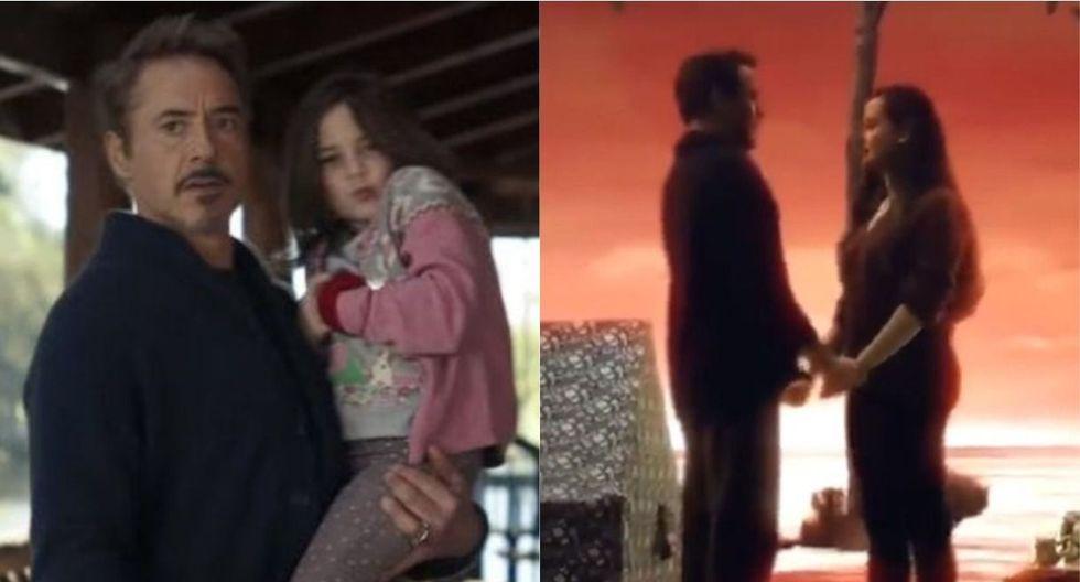 """Avengers: Endgame"": se revela escena eliminada entre Tony Stark y su hija. (Foto: Captura)"