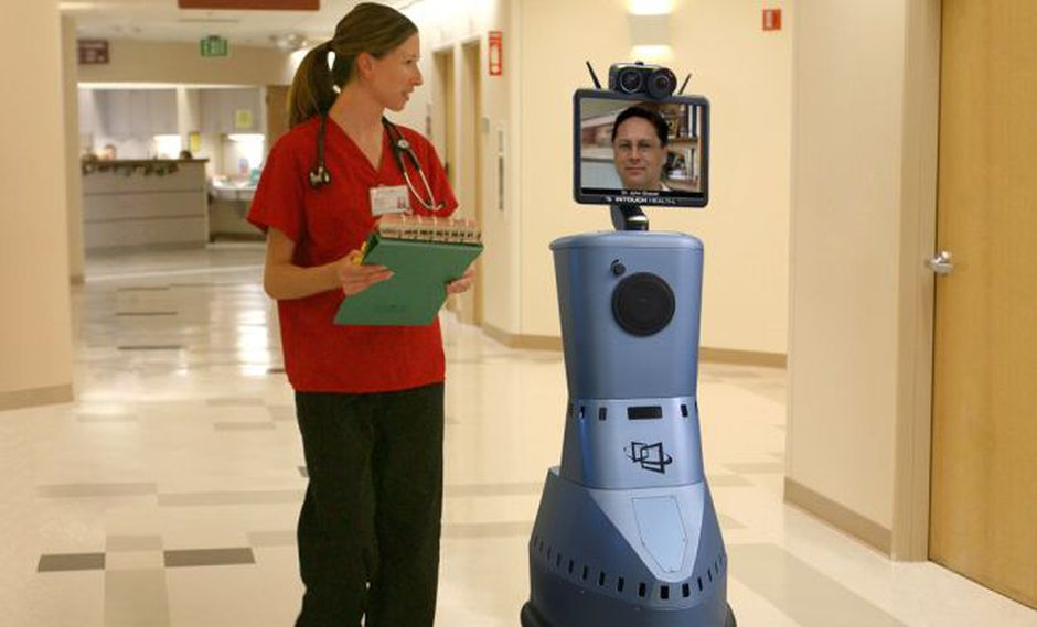 RP-VITA fue desarrollado por iRobot junto con InTouch Health (Foto: botsinc.com)