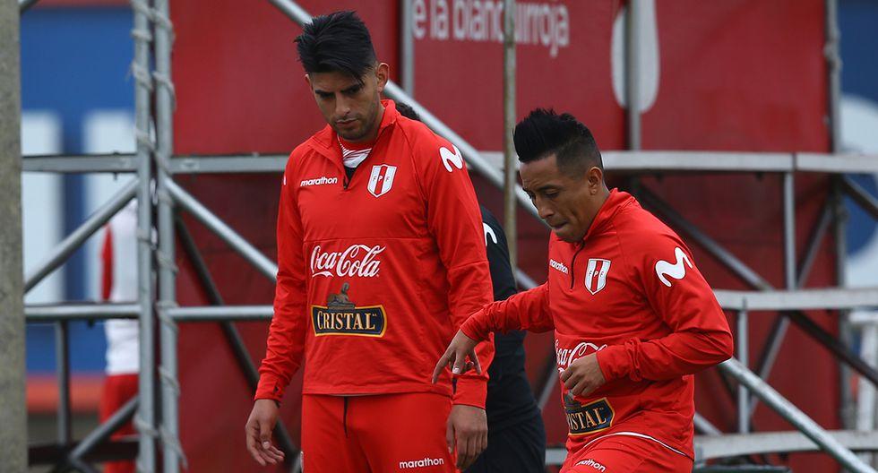 Christian Cueva y Carlos Zambrano destacaron en la Copa América 2019 con la selección peruana. (Foto: Archivo GEC)