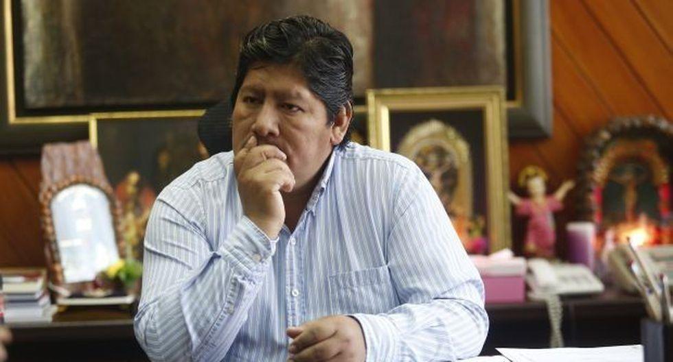 Edwin Oviedo niega haber sido responsable intelectual de los asesinatos en Tumán. (Foto: GEC)