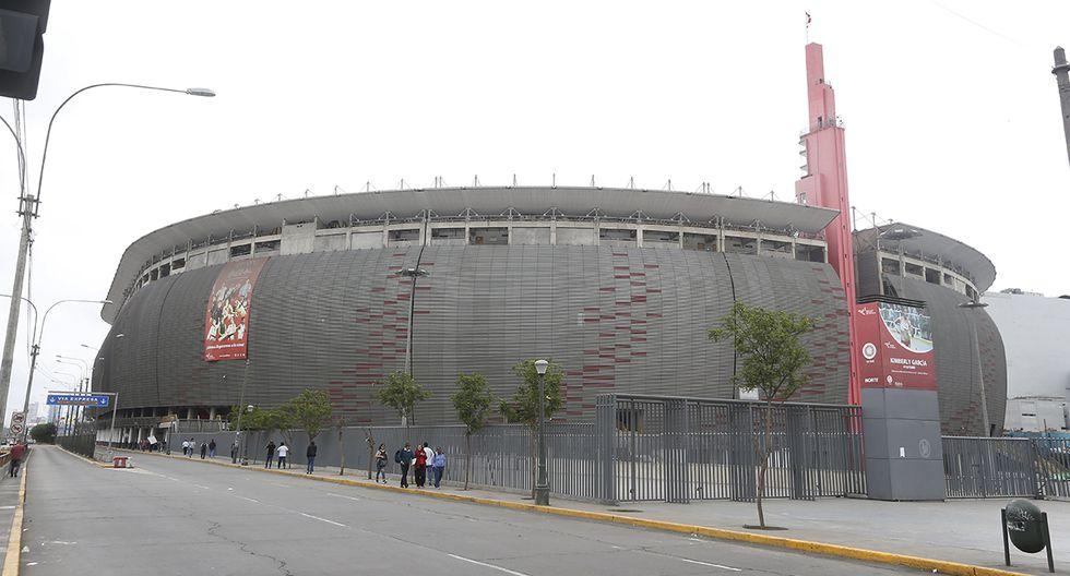 El partido Perú vs. Chile se iba a jugar en el Estadio Nacional. (Foto: Archivo GEC)