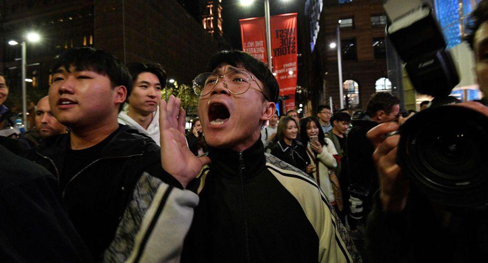Protestas en Hong Kong afrontan un fin de semana crucial. (Foto: AFP)