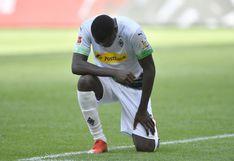 En honor a George Floyd: Thuram anotó gol y se arrodilló en símbolo de lucha contra el racismo