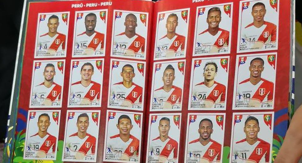 Copa América 2019. La segunda parte de la selección peruana en el álbum oficial de esta edición. (Foto: Iván Huerta / GEC)
