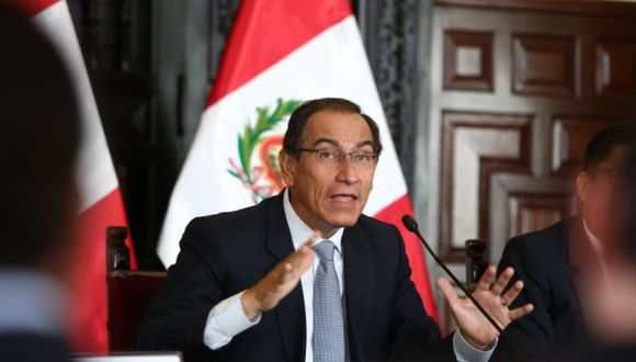 El presidente Martín Vizcarra comentó la situación de Alberto Fujimori en una visita a Piura. (Foto: GEC)