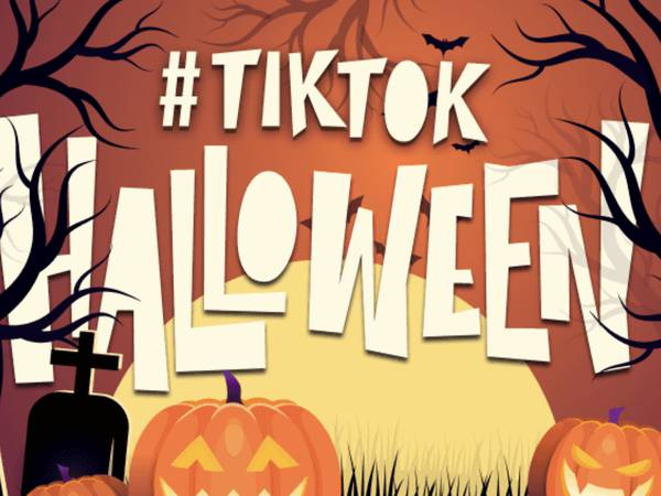 Con filtros, historias de terror y lives, TikTok celebra Halloween