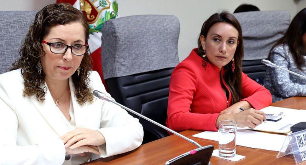 Patricia Donayre pidió a la Comisión de Constitución, presidida por Rosa Bartra de Fuerza Popular, que cambie el predictamen.