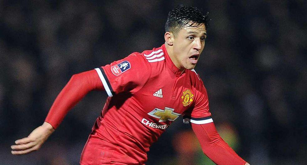 Alexis Sánchez cerca de salir del Manchester United. (Foto: AFP)