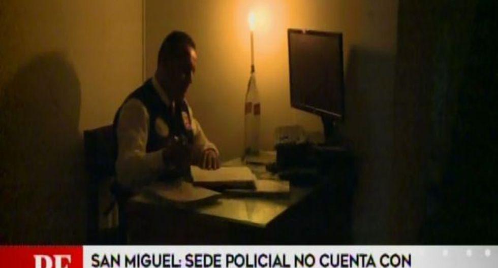 Sede del Departamento de Investigación Criminal (Depincri) de San Miguel no cuenta con los servicios de agua potable y electrici