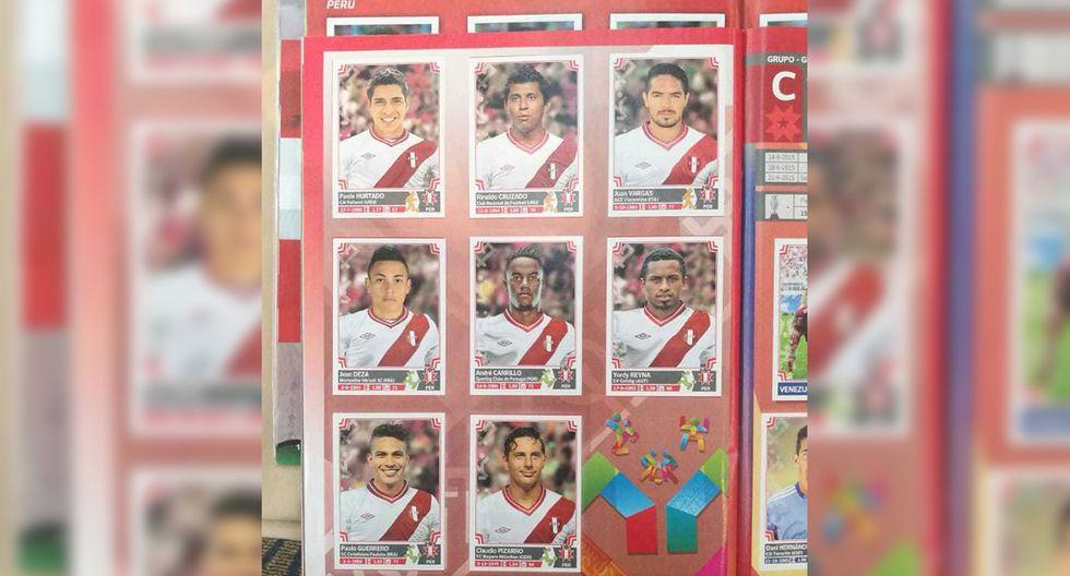Copa América 2015. la segunda parte de la selección peruana en el álbum oficial. (Foto: Iván Huerta / GEC)