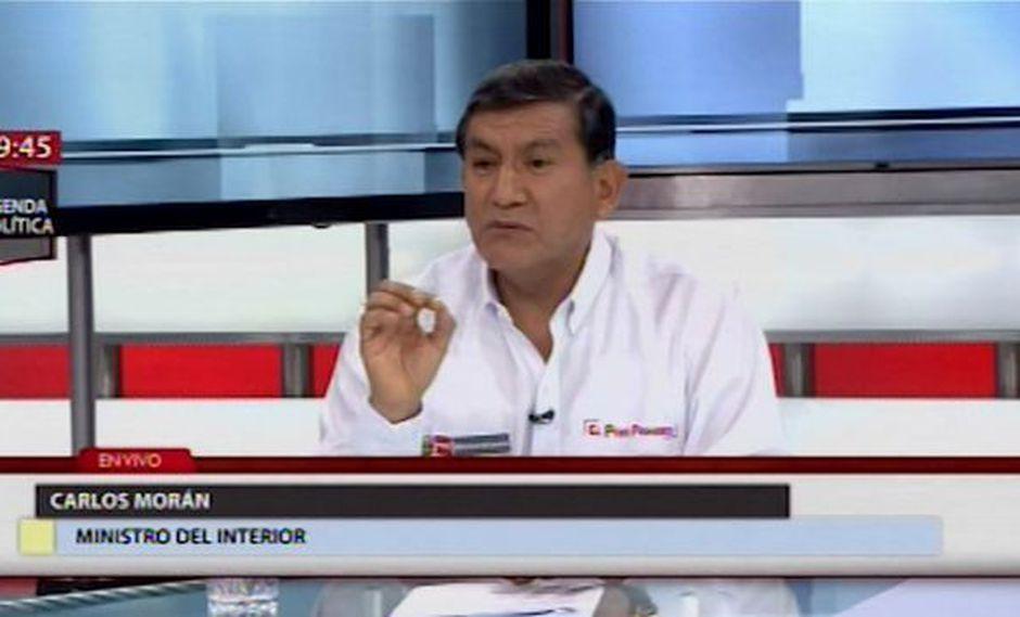 Ministro del Interior afirma que presencia de venezolanos ha incrementado la incidencia delictiva en Lima